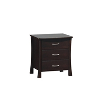 Cambridge 3 Drawers Bedside Table
