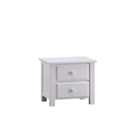 Caribbean 2 Drawers Bedside Table