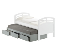 Delphi Trundle Bed with Drawers