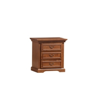 Diana 3 Drawers Bedside Table