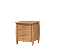 Doncaster 3 Drawers Bedside Table