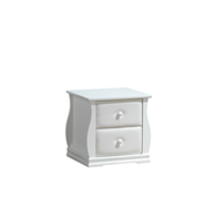 Fairbury 2 Drawers Bedside Table