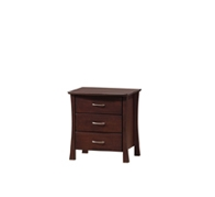 Havana 3 Drawers Bedside Table