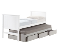 Manhattan Trundle Bed with Drawers