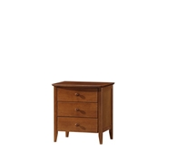 Morocco 3 Drawers Bedside Table