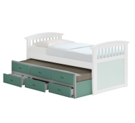 New Jersey Trundle Bed with Drawers