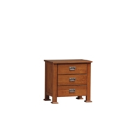 New Kingston 3 Drawers Bedside Table