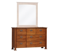 New Kingston 9 Drawers Dresser