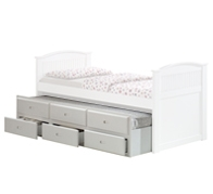 Ravenna Trundle Bed With Drawers