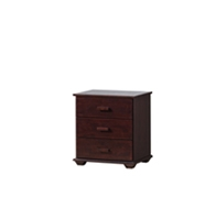 Romford 3 Drawers Bedside Table