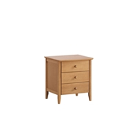 Wales 3 Drawers Bedside Table